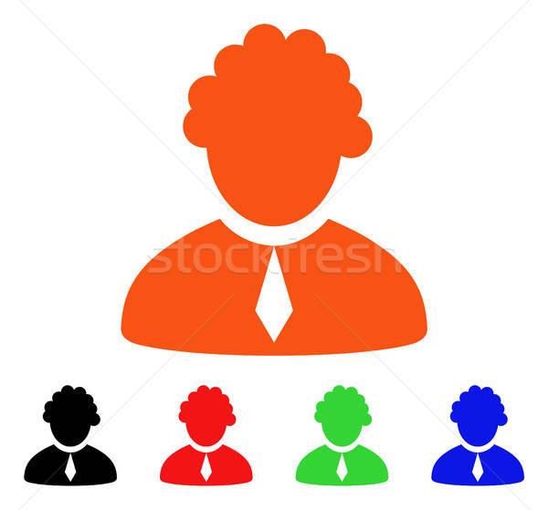 Judge Profession Vector Icon Stock photo © ahasoft