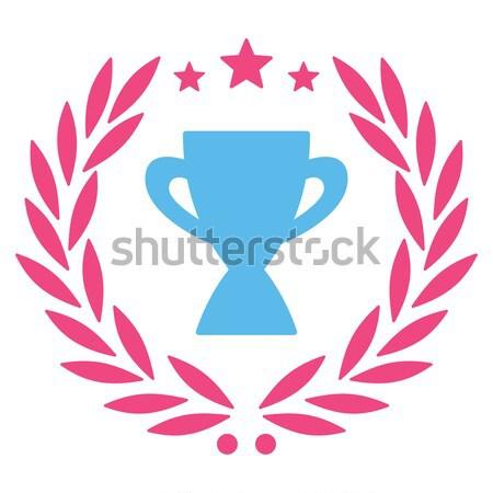 Ethereum Award Vector Icon Set Stock photo © ahasoft