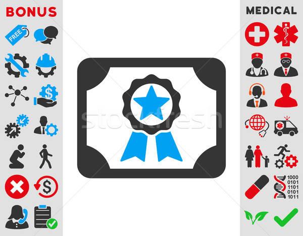 Award Diploma Icon Stock photo © ahasoft