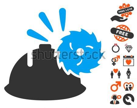 Body Execution Flat Icon Stock photo © ahasoft