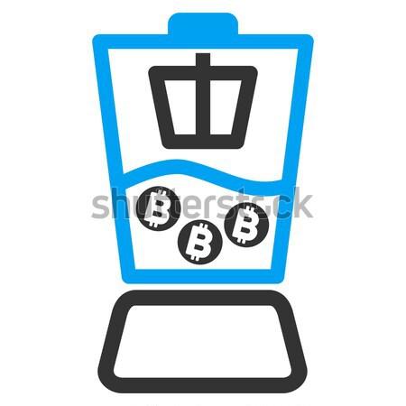 Konyha keverő ikon vektor alkalmazás web design Stock fotó © ahasoft
