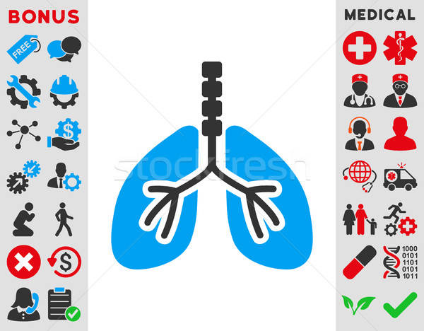 Breathe System Icon Stock photo © ahasoft