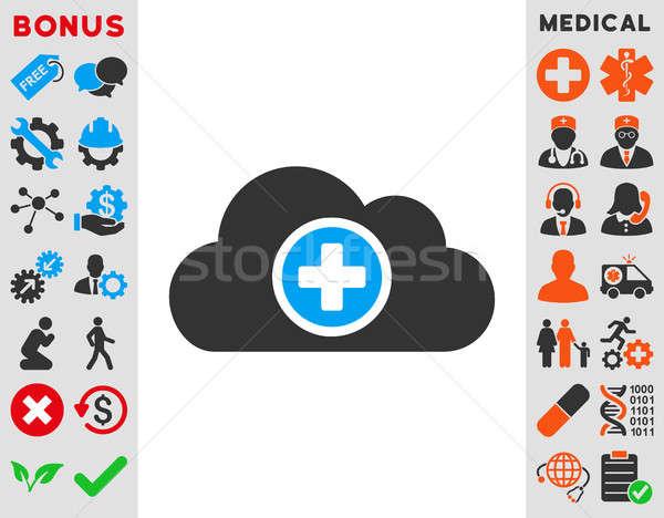 Health Care Cloud Icon Stock photo © ahasoft