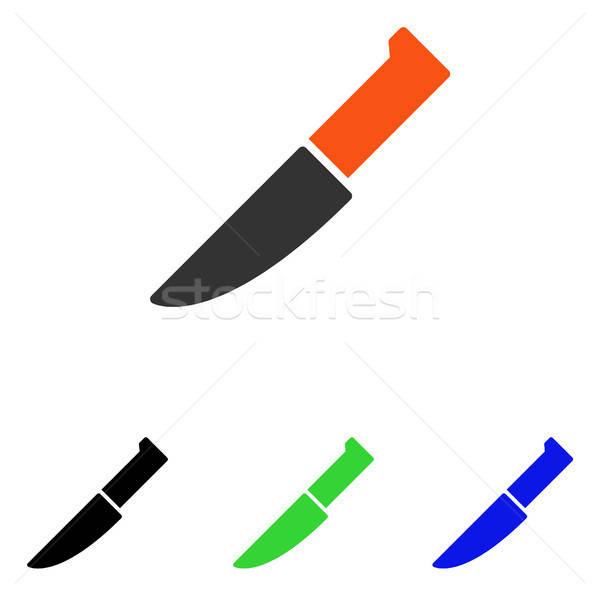 Faca vetor ícone ilustração estilo icônico Foto stock © ahasoft