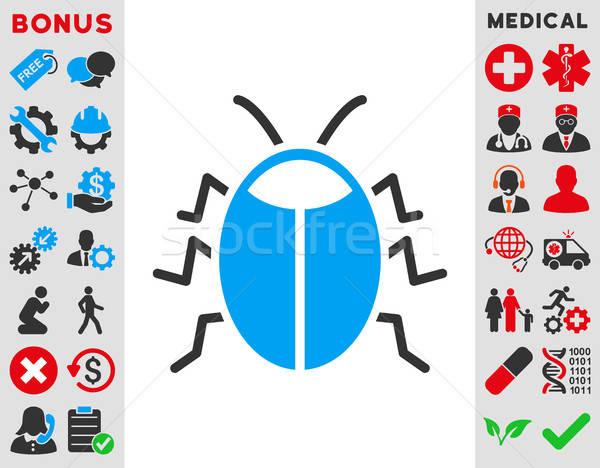 Bug Icon Stock photo © ahasoft