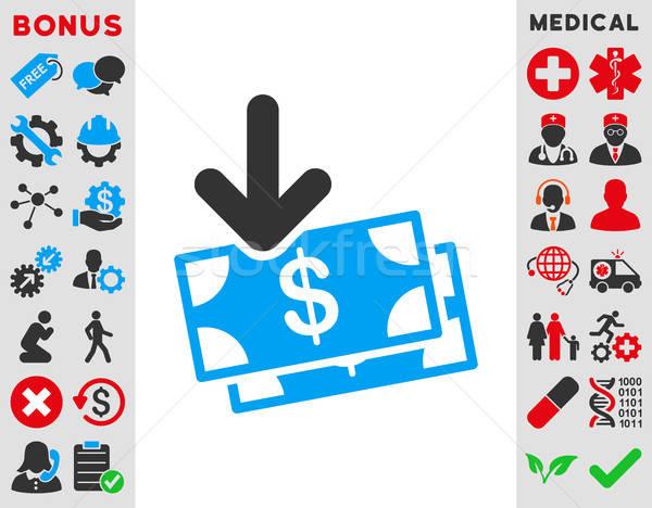 Money Income Icon Stock photo © ahasoft