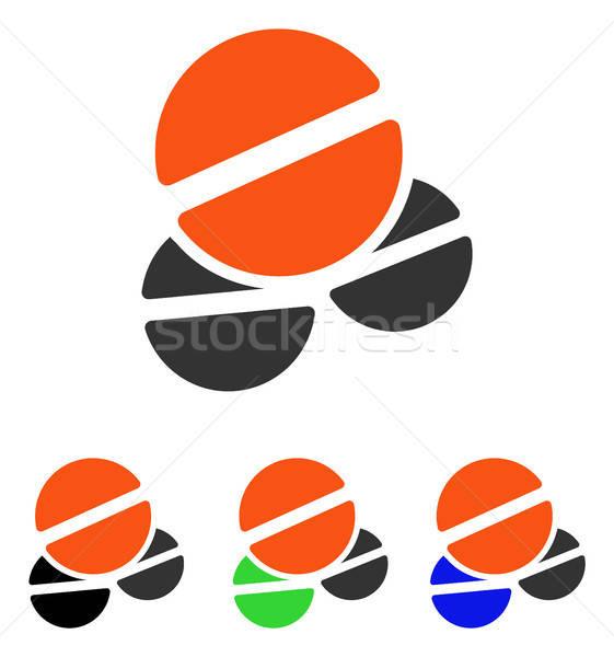 Vector icono pictograma ilustración estilo icónico Foto stock © ahasoft