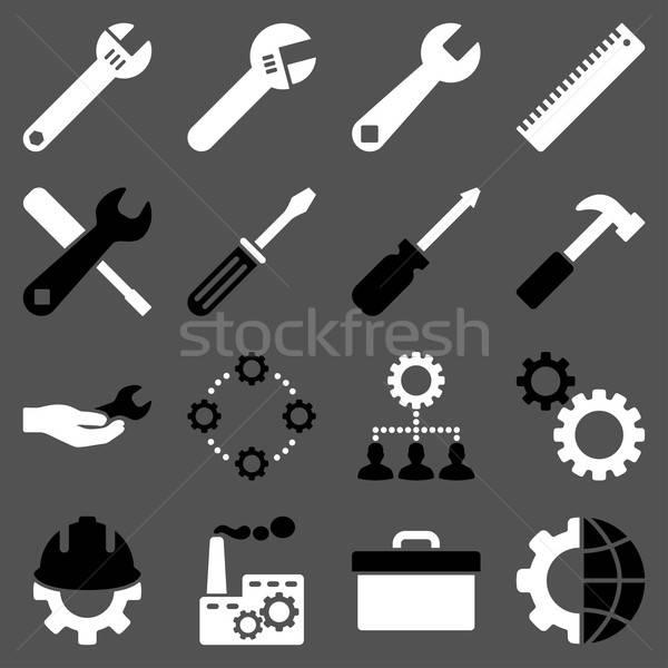 オプション サービス ツール ベクトル スタイル ストックフォト © ahasoft