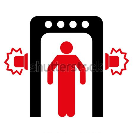 Male Genitals Love Flat Icon Stock photo © ahasoft