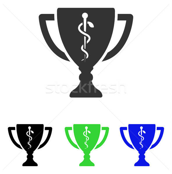 Medical Cup Flat Vector Icon Stock photo © ahasoft