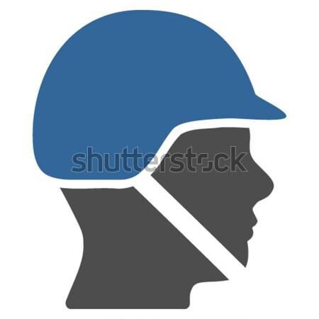 Head Flat Icon Stock photo © ahasoft