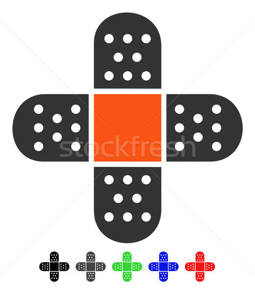 Yeso icono color negro gris Foto stock © ahasoft