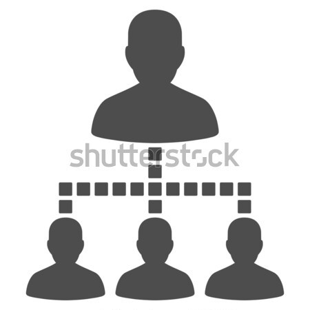 Város építész ikon vektor piktogram stílus Stock fotó © ahasoft