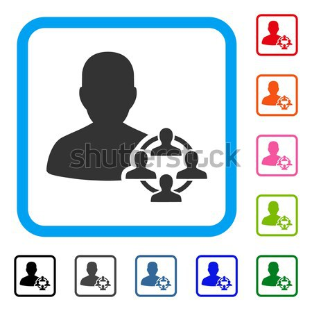 Politics Flat Icon Stock photo © ahasoft