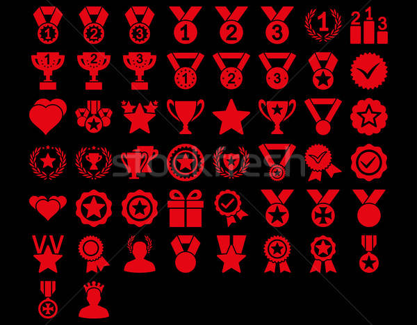 Stock photo: Competition and Awards Icons