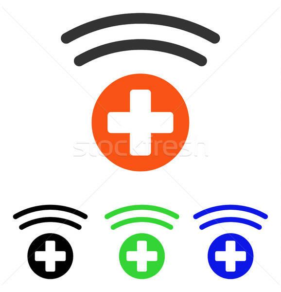 медицинской источник вектора икона иллюстрация стиль Сток-фото © ahasoft