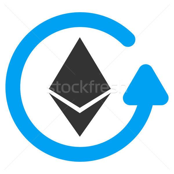 Viszzafizetés ikon vektor alkalmazás web design üzlet Stock fotó © ahasoft