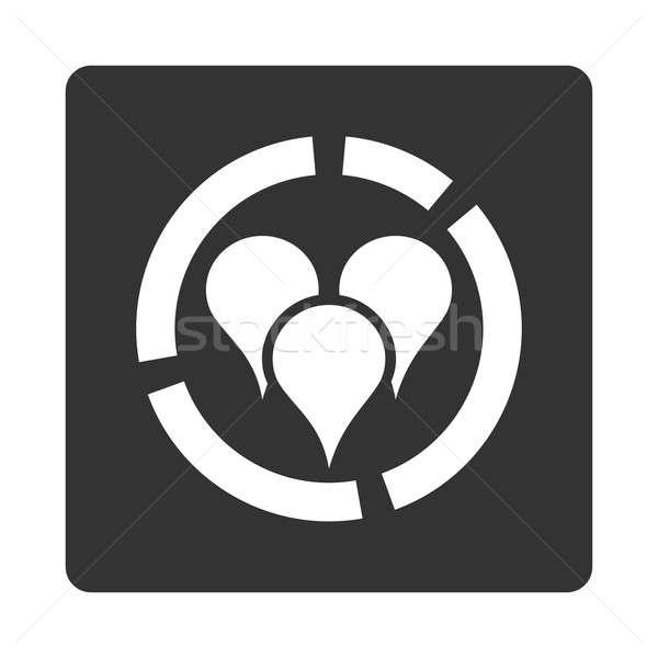 Geo diagram icon Stock photo © ahasoft