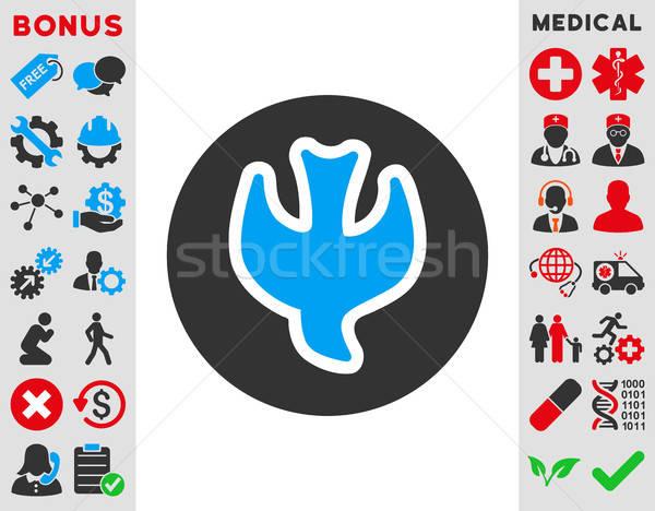 Queda alma ícone vetor estilo símbolo Foto stock © ahasoft