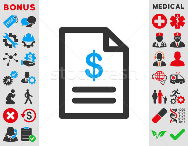 Invoice Icon Stock photo © ahasoft