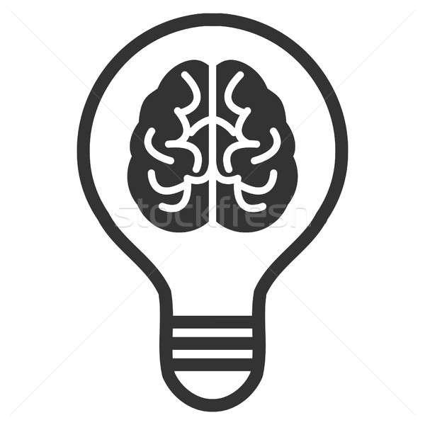 Idea Bulb Raster Icon Stock photo © ahasoft