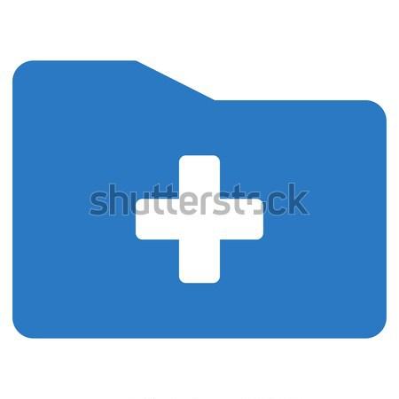 Médico dobrador ícone vetor cor Foto stock © ahasoft