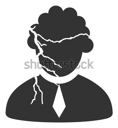 Judge Profession Flat Icon Stock photo © ahasoft