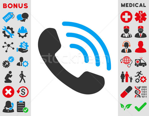 Phone Call Icon Stock photo © ahasoft