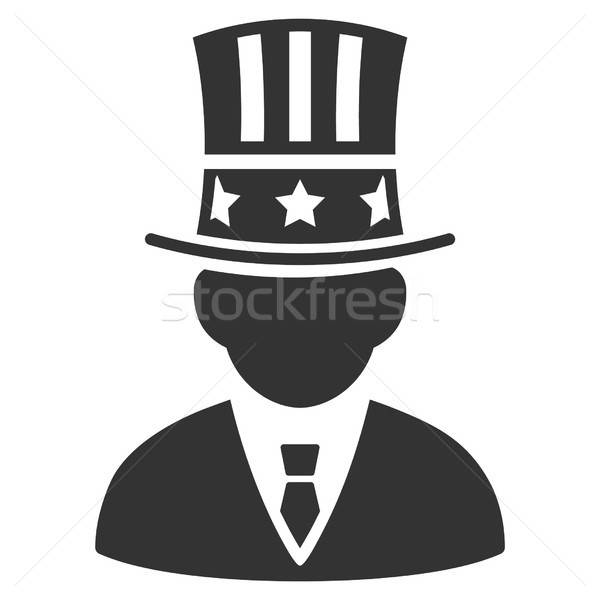 Capitalist Vector Icon Stock photo © ahasoft