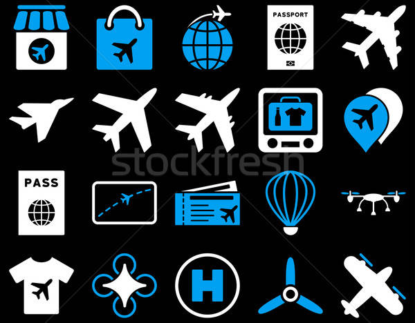 Stock photo: Airport Icon Set