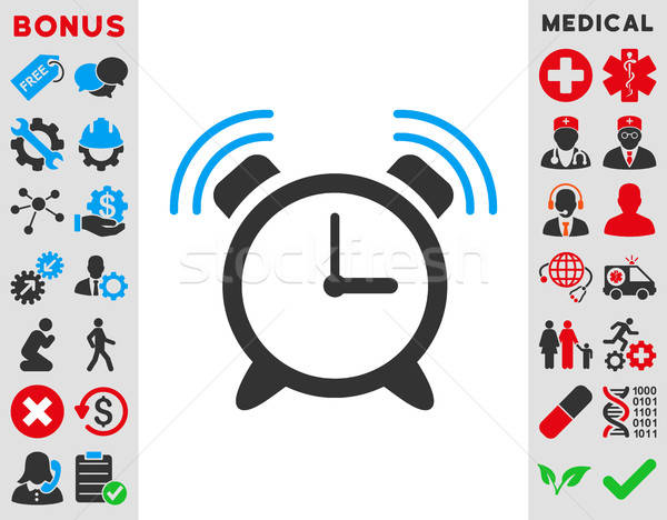 Alarm Clock Ring Icon Stock photo © ahasoft