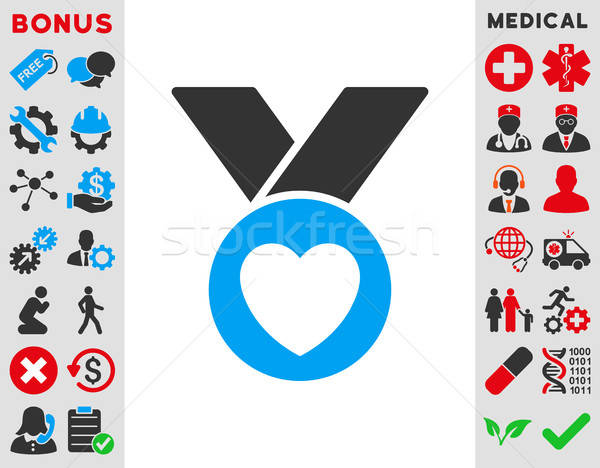 Charity Medal Icon Stock photo © ahasoft