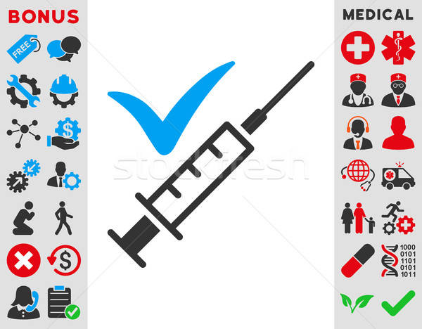 Done Vaccination Icon Stock photo © ahasoft