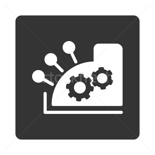 Cash register icon Stock photo © ahasoft