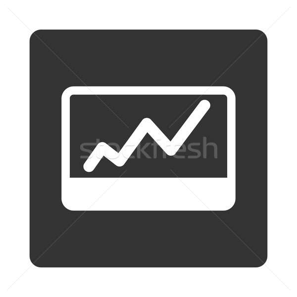 Stock Market icon Stock photo © ahasoft