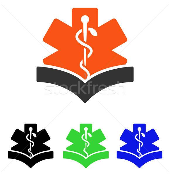 Médicos conocimiento vector icono ilustración estilo Foto stock © ahasoft
