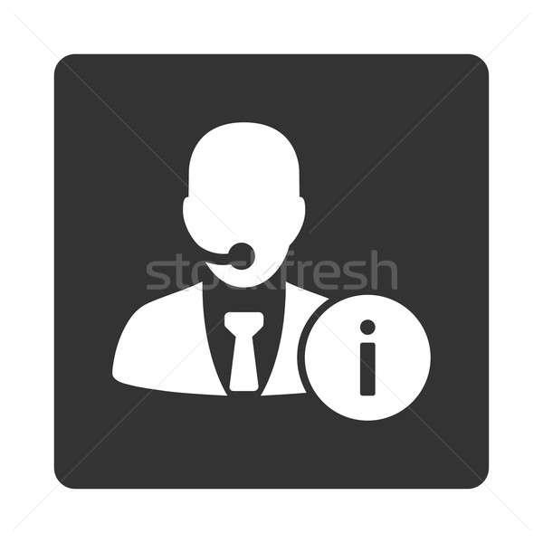 Help desk icon Stock photo © ahasoft