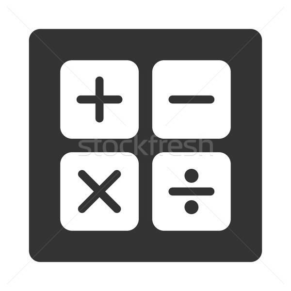 Calculator icon Stock photo © ahasoft