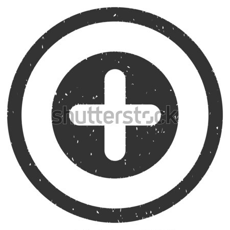 Create flat black color rounded vector icon Stock photo © ahasoft