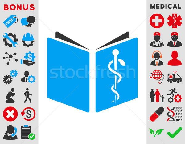 薬物 ハンドブック アイコン ベクトル スタイル シンボル ストックフォト © ahasoft