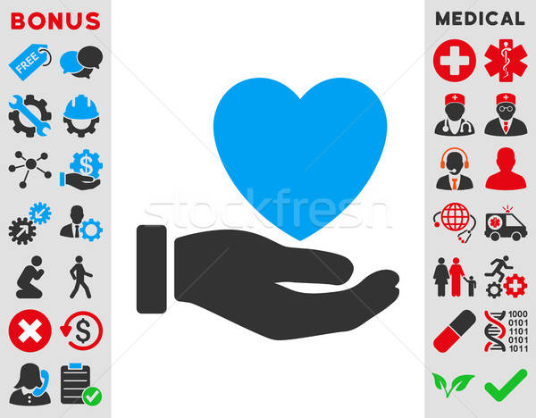 Heart Charity Icon Stock photo © ahasoft