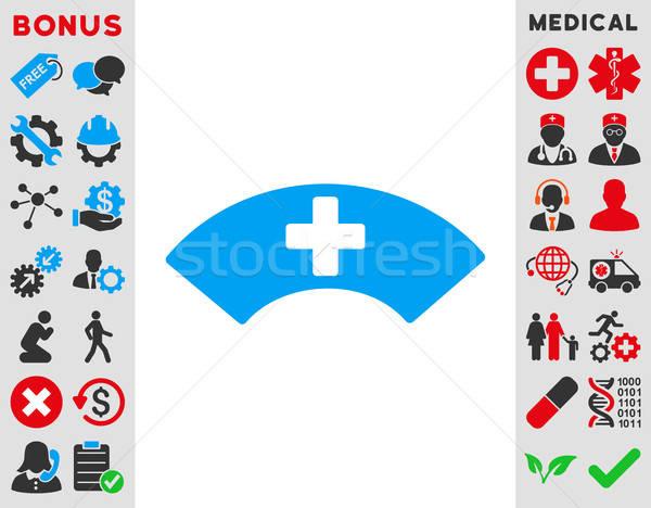 Medical Visor Icon Stock photo © ahasoft