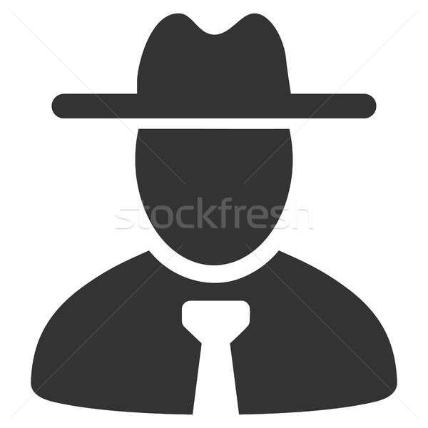 Foto stock: Cavalheiro · ícone · estilo · gráfico · cinza · símbolo