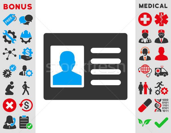 Patient Account Icon Stock photo © ahasoft