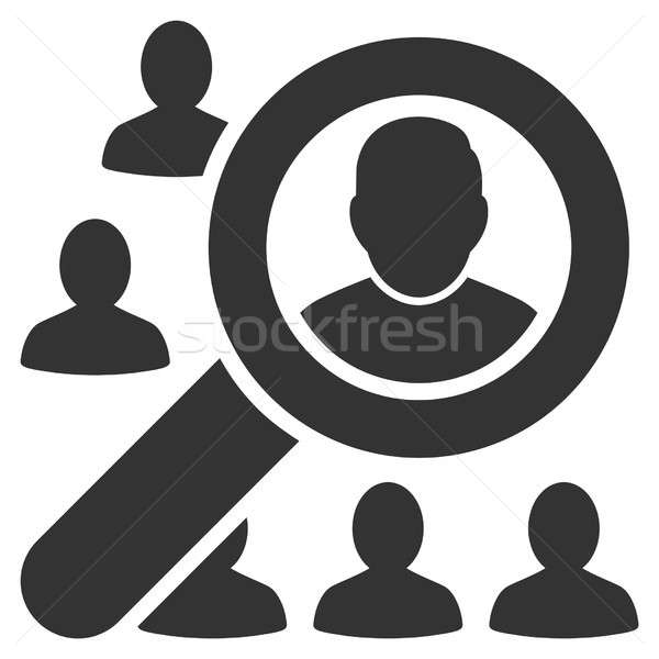 Find User Raster Icon Stock photo © ahasoft