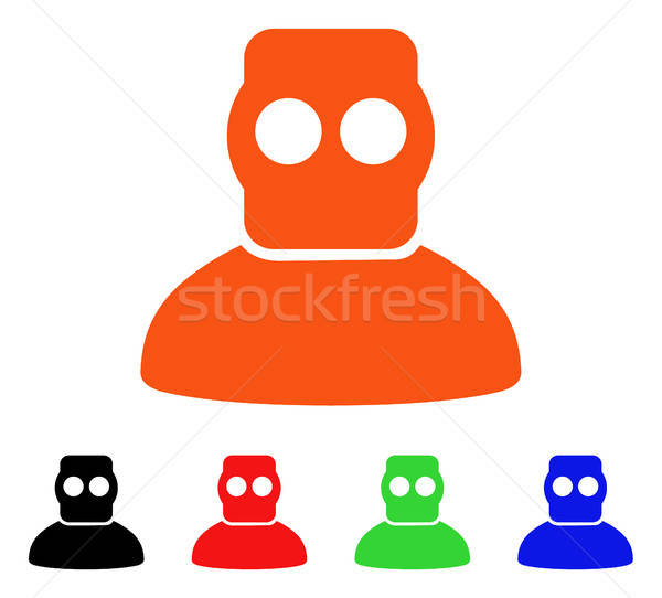 Diver Armor Vector Icon Stock photo © ahasoft