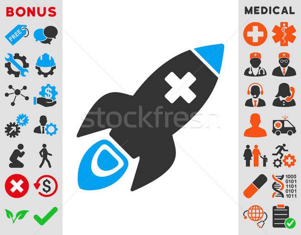 Medical Rocket Icon Stock photo © ahasoft