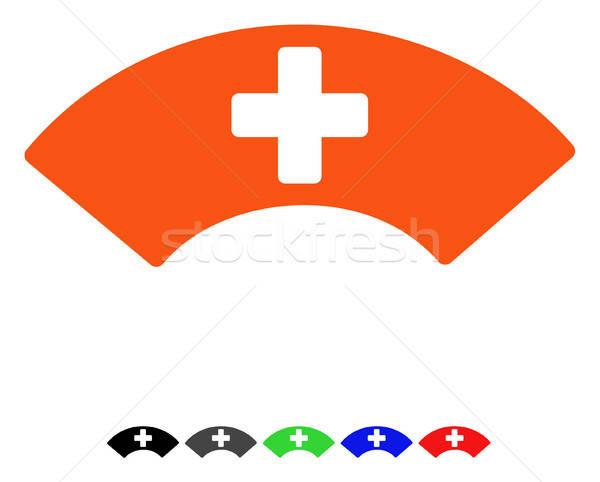 Medical Visor Flat Icon Stock photo © ahasoft