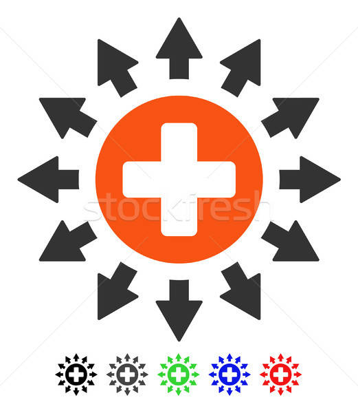 Farmacia distribución icono vector color Foto stock © ahasoft