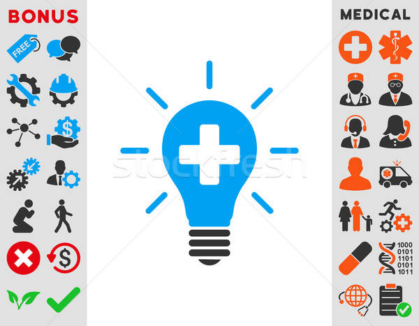 Medical Electric Lamp Icon Stock photo © ahasoft